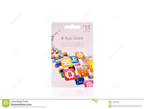 App That Stores Gift Cards - app store gift card editorial stock image image 17930194