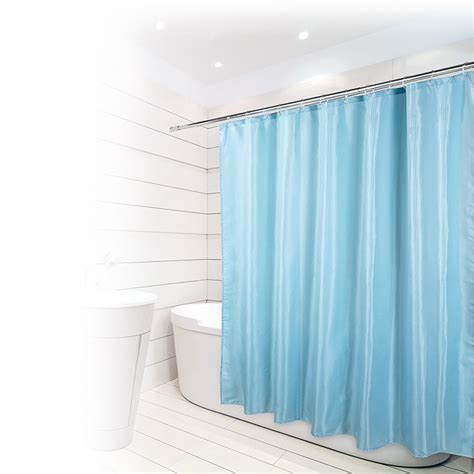 b and m shower curtain beldray jacquard stripe shower curtain bathroom