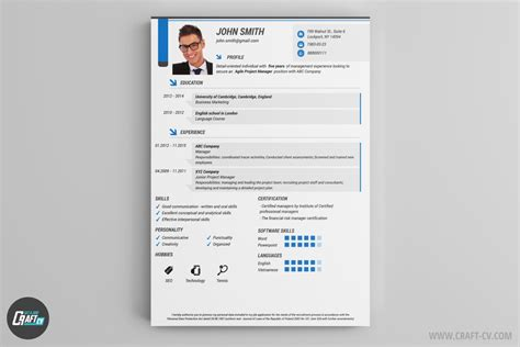 Resume Generator by Resume Builder Creative Resume Templates Craftcv