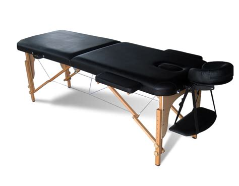portable massage couches black portable massage table bed beauty therapy couch 2