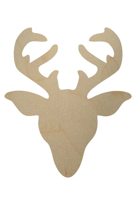 reindeer template cut out wooden reindeer shape wooden reindeer cutout