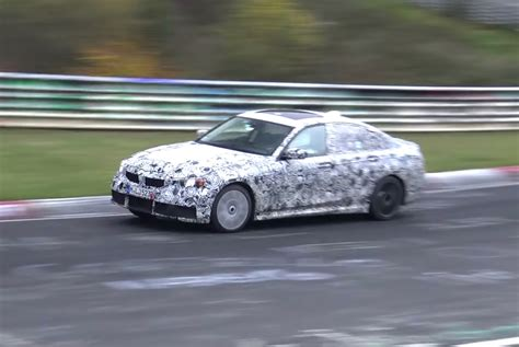 Bmw 3 Series 2019 Video by 2019 Bmw G20 3 Series Spotted Again In M340i Form