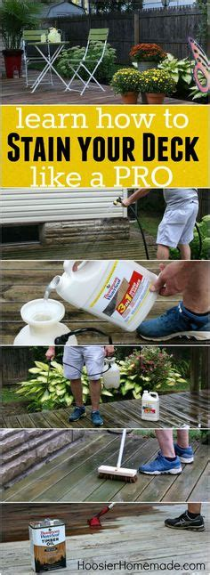 9 Tips To Help You Conquer Stains by 1000 Ideas About Deck Stain Colors On Stain