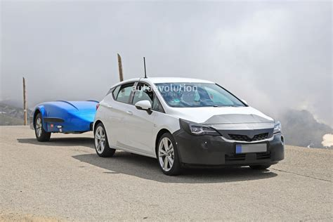 2019 New Astra by 2019 Opel Astra Facelift Spied Doing Some Towing