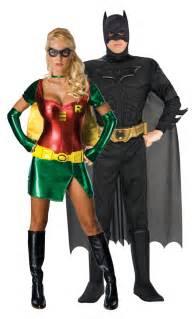 batman et robin paire costumes