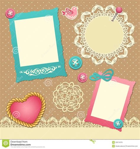 scrapbook layout software free scrapbook template royalty free stock photos image 29074378