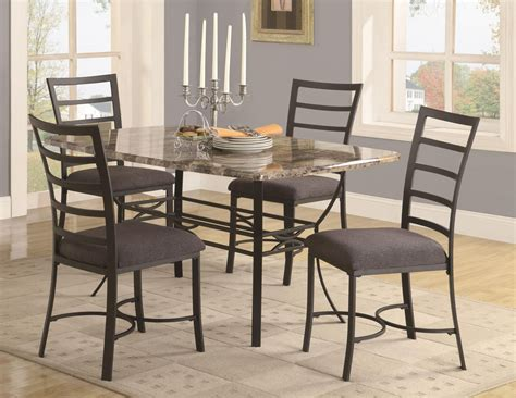 metal kitchen tables  chairs design decoration