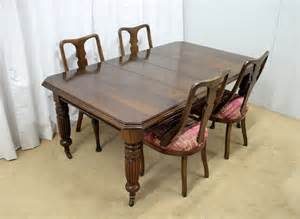 Edwardian Dining Table And Chairs Dining Table Chairs Antiques Atlas