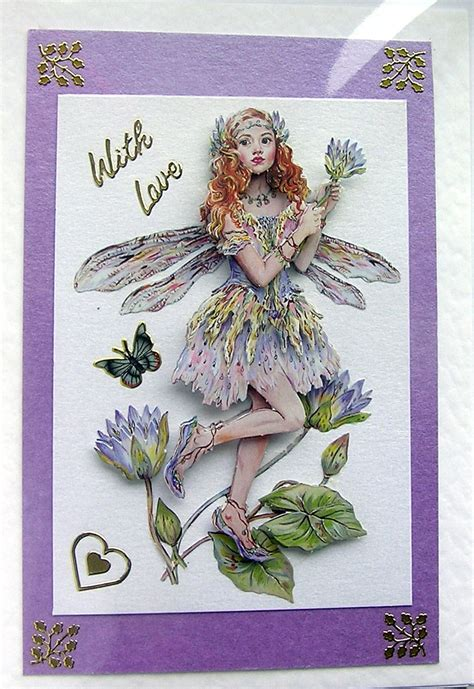 card decoupage crafted 3d decoupage card with 1459 on