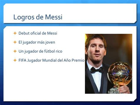 messi biography ppt ppt lionel messi powerpoint presentation id 5901546