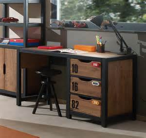 Loft Bed Design bureau style industriel alex