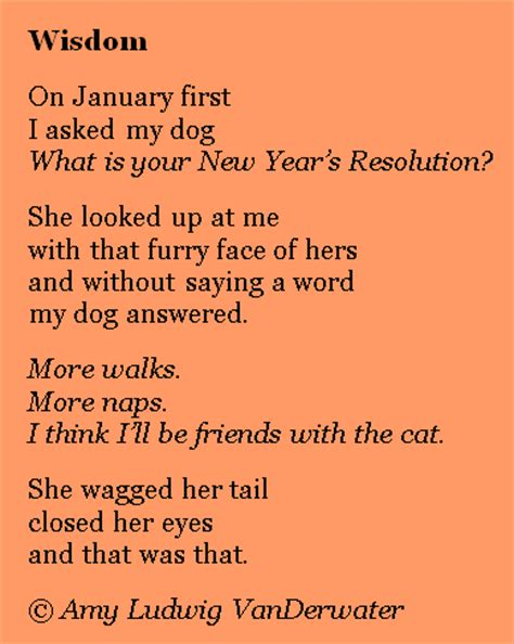 the poem farm new year s resolutions imaginary