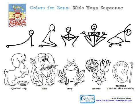 printable toddler yoga poses book review giveaway colors for zena apple farmer