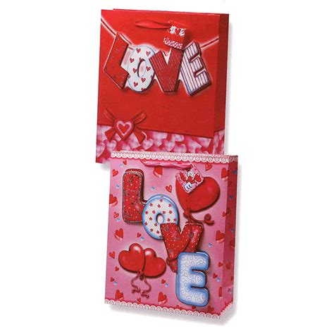 valentines gift bags 3d pop up gift bag with glitter ace greetings
