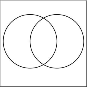 interactive venn diagram 2 circles clip venn diagram 2 zone b w unlabeled i abcteach abcteach