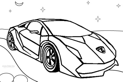 Lamborghini Coloring Pages Printable by Lamborghini Coloring Page Coloring Pages