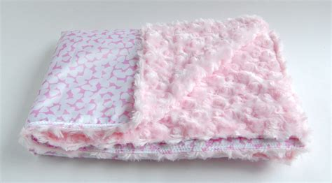 How To Make Handmade Blankets - handmade baby blanket for pink silky blanky
