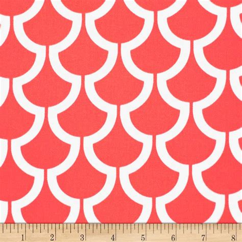 coral home decor fabric object moved
