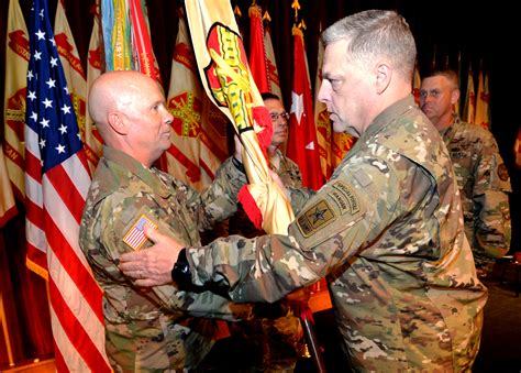 mark milley scott in texas contact dahl promoted takes command of us army installation