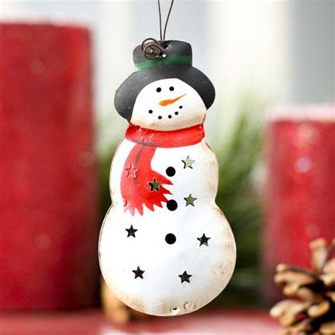 ornaments for home decor metal snowman ornament signs ornaments home decor