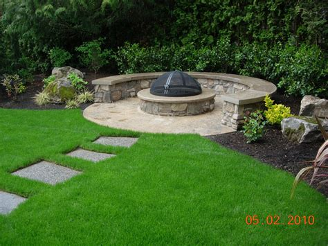 Firepit Construction Building A Pit Construction And Safety Advice All Oregon Landscaping