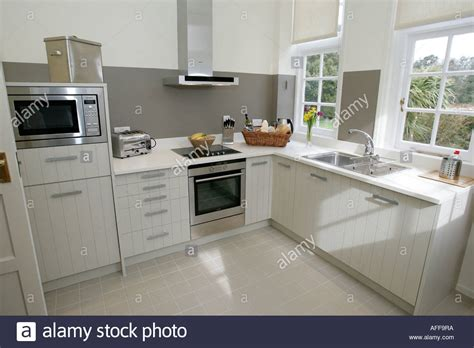 kitchen isle modern white shaker style kitchen isle of wight uk