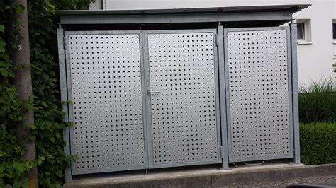 z 228 une muell fahrradraum 437 - Tür Montiert Müll Kann