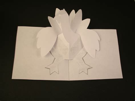 make a popup card how to make a turkey pop up card robert sabuda method