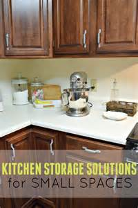kitchen storage solutions for small spaces this s