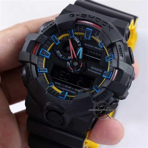 G Shock Ga 700 Hitam gambar g shock ga 700se 1a9 hitam kuning ori bm on 2