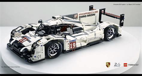 lego porsche amazing fan built lego technic porsche 919 the 2015 le