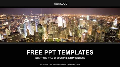 Big City Business Powerpoint Templates City Ppt Template