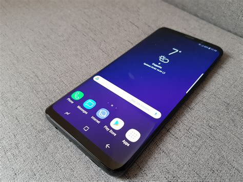 1 Samsung Galaxy S9 Samsung Galaxy S9 Review Still The 1 Android Phone Around Your Mobile