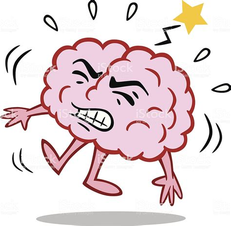 brain clipart brain with stroke stock vector more images of