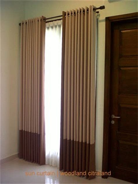 Gorden Minimalis Venetian Coklat desain rumahmu seminimalis pengorganisasian interior minimalis rumah anda