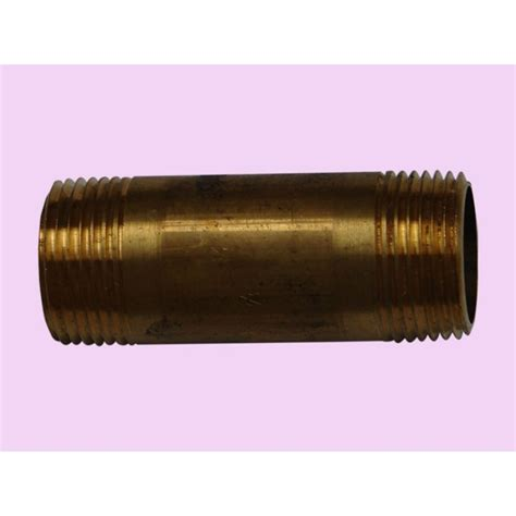 Plumbing Supplies New Zealand by 20mmx40 Brass Barrel