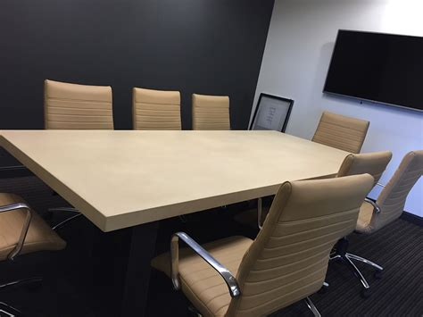 Concrete Conference Table Commercial Grade Concrete Bars And Tabletops Scottsdale Az Paradise Concrete