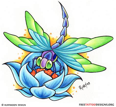 dragonfly and flower tattoo designs 1000 images about dragonfly on dragonfly