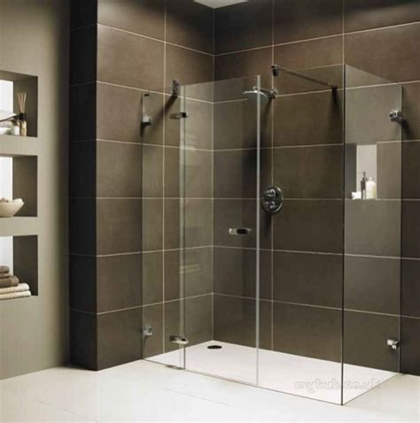Showerlux Shower Doors Designa In Line Pnl For Rec Dr 300mm Showerlux