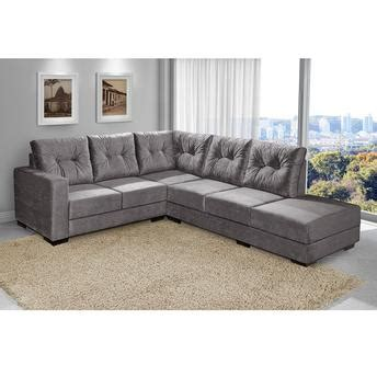 capa de sofa de canto casas bahia sof 225 de canto american comfort 5 lugares sevilha suede