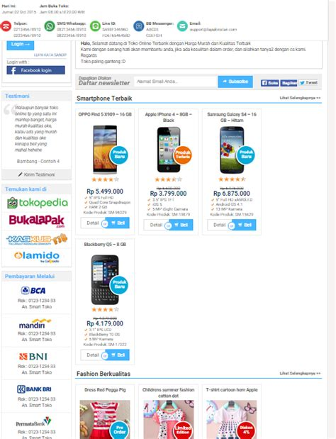 free download themes toko online download wp smart toko by lapak instan terbaru kumpulan