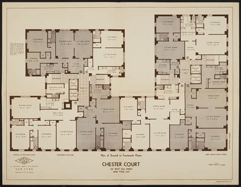 nyc apartment floor plans luxury new york apartment floor plans