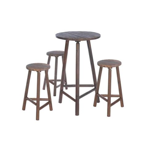 High Wooden Tables And Stools by 25 Best Ideas About High Top Tables On High