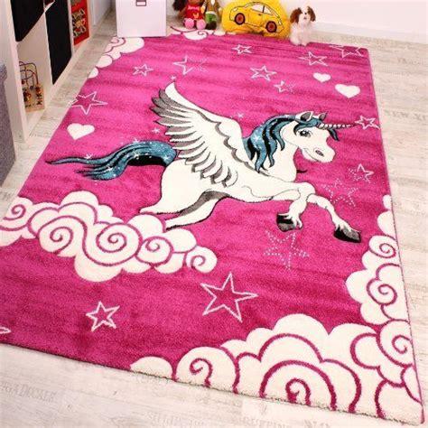 cute bedroom rugs kids rug pink unicorn girls cute soft carpet children area