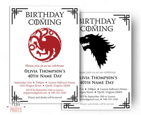 printable wolf birthday cards dragon birthday invitation wolf birthday invitation
