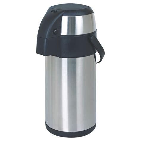 Teko Termos Air Stainless Steel Vacuum Coffee Pot 1 5lt New Promo stainless steel vacuum thermos airpot 3 5l