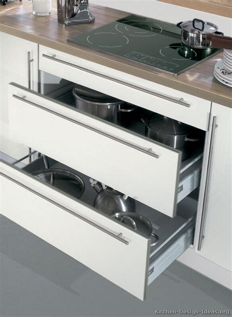 modern kitchen drawers pictures of kitchens modern white kitchen cabinets