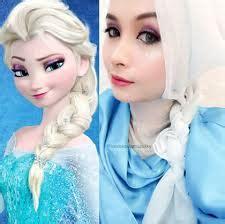 tutorial hijab syari kartun model hijab ala tokoh kartun eenendangsarielmuhyiblog