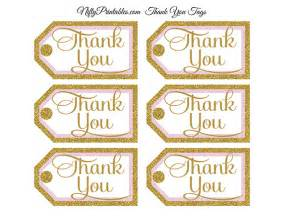 Twinkle Twinkle Little Star Wall Stickers pink gold thank you tags rect nifty printables