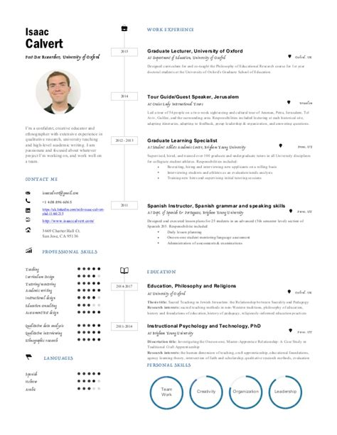 Resume One Page by Resume One Page